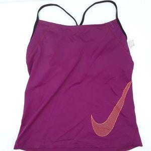 Nike Active Tankini Top Purple NWOT